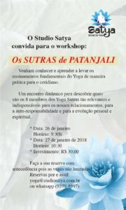 Workshop Sutras