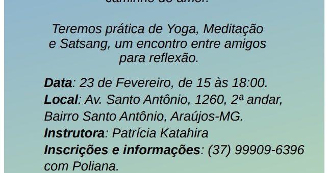 Yoga e Meditação em Araújos-MG